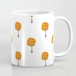Seamless Pattern with beautiful trees Coffee Mug