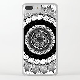 real eyes see through the veil Clear iPhone Case