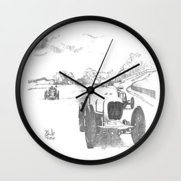 The Finish Wall Clock