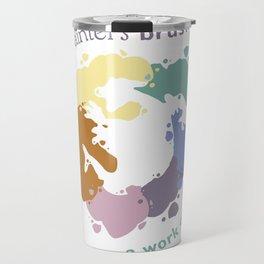 Painter's Brush Travel Mug