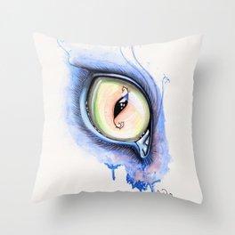 Cat Eye I Throw Pillow