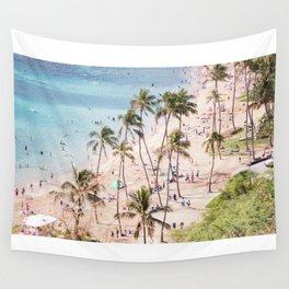 Hanauma Bay Hawaii Wall Tapestry