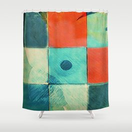Jolis Parrots 2 Shower Curtain