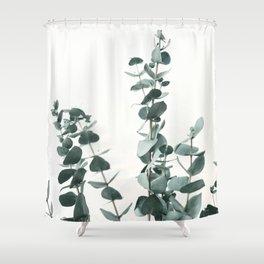 Eucalyptus Leaves Shower Curtain