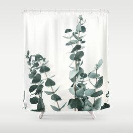 Eucalyptus Leaves Shower Curtain