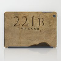 221b iPad Cases featuring No. 6. 221B by F. C. Brooks