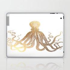 Gold Octopus  Laptop & iPad Skin