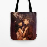 firefly Tote Bags featuring Firefly by Vaahlkult