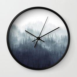 Forest Haze Wall Clock
