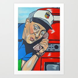 Rodney Dangerfield Caddyshack Art Print