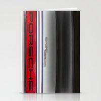 porsche Stationery Cards featuring Porsche 911   by David Pyatt