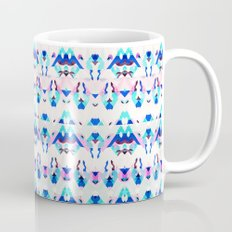 Mountain Ikat in Pink and Blue Mug