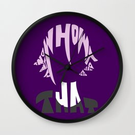 crona soul eater Wall Clock