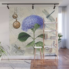 Vintage Collage Wall Mural