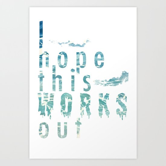Works Out Art Print