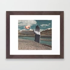 BLOW A WISH Framed Art Print