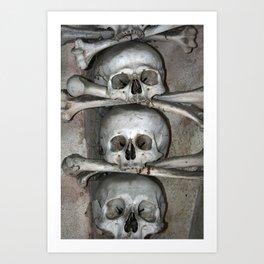 Sedlec IX Art Print
