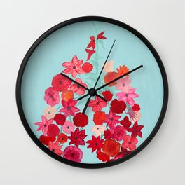 Simply Breathe - Lungs For Whitney Wall Clock