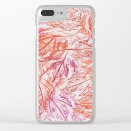 Frottage Clear iPhone Case