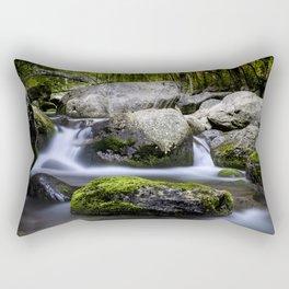 La rivière Rectangular Pillow