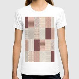 Rustic Tiles 03 #society6 #pattern T-shirt