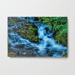 Wahkeena Falls  Metal Print