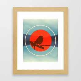 Bird Call Framed Art Print
