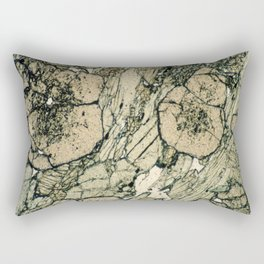 Garnet Crystals Rectangular Pillow