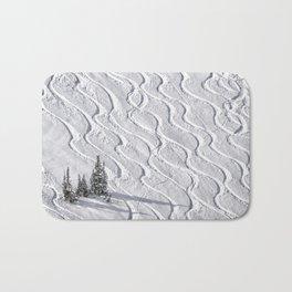 Powder tracks Bath Mat