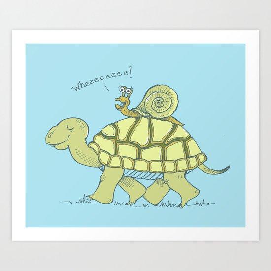 Whhheeeeeeeeeeeeeee!!! Art Print