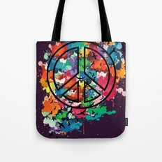 Peace & Freedom Tote Bag