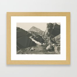 Error Framed Art Print