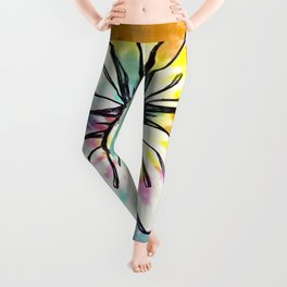 """This Body Feels Like Giggles"" Flowerkid Leggings"