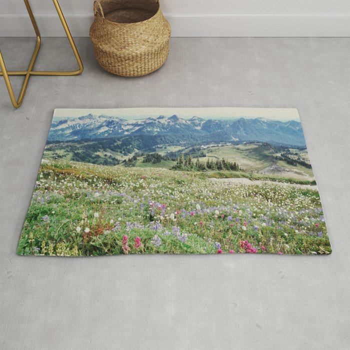 Wildflower Meadow Rug