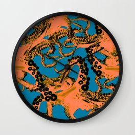 Space Invaderz_firestorm Wall Clock