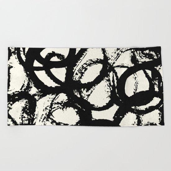 Tribal Dance Beach Towel