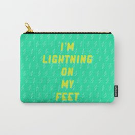 I'm Lightning On My Feet Carry-All Pouch