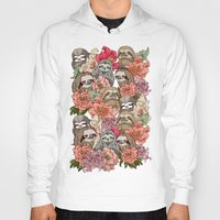 Hoodies featuring Because Sloths by Huebucket