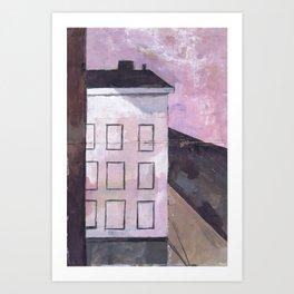 BROOKLYN BUILDING #1 Art Print