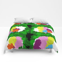 Flowers for Mark Rothko and Cézanne. Comforters