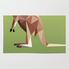Geometric Kangaroo Rug