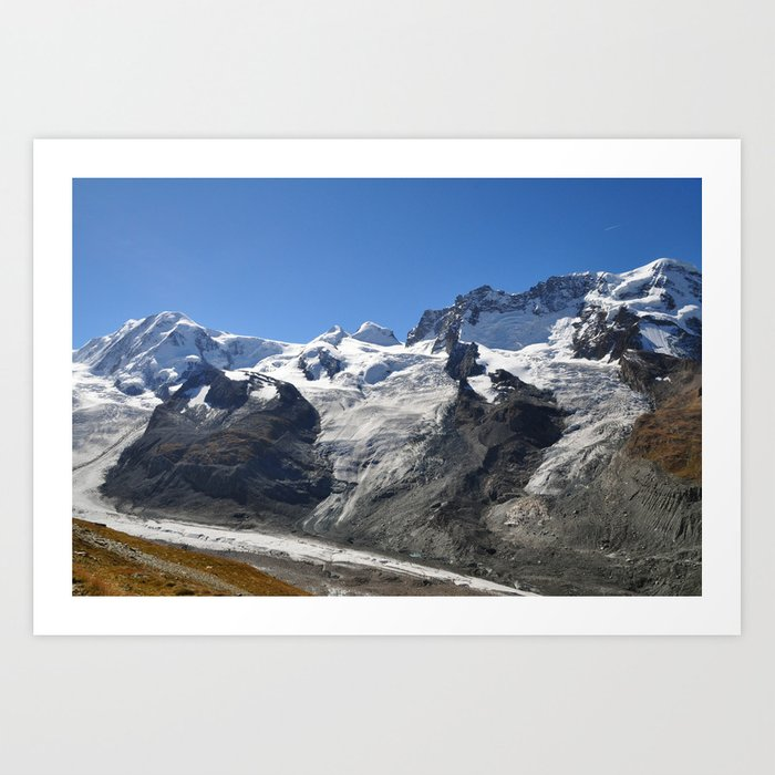 Alpine Landscape III Art Print