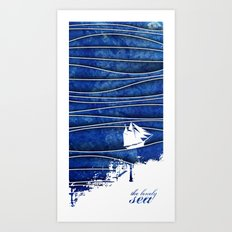 The Lonely Sea Art Print