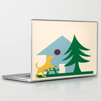 beagle Laptop & iPad Skins featuring Beagle by BruxaMagica_susycosta
