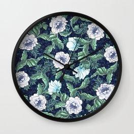 Winter garden Wall Clock