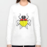 bug Long Sleeve T-shirts featuring Bug by Okes