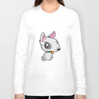 puppy Long Sleeve T-shirts featuring Puppy by Eye Opening Design