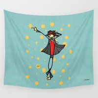 toddler Wall Tapestries featuring Michael by Giuseppe Lentini