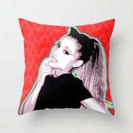 Ariana | Pop Art Throw Pillow