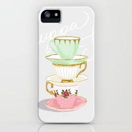 Cuppa Tea iPhone Case